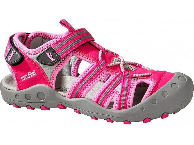 High Colorado Lido Trekkingsandalen Kinder pink-rosa